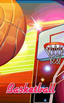 Basketball Game on Track poster
