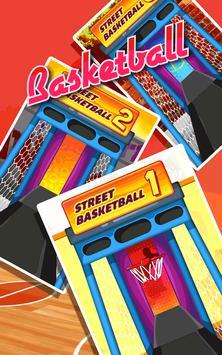 Basketball Game on Track screenshot 2