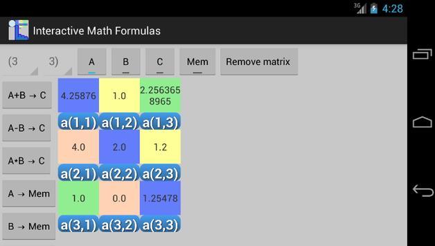Interactive Math apk screenshot