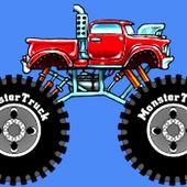 Fun Monster Truck Race 2 icon