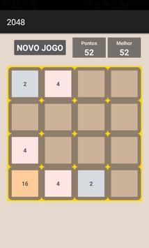 Jogo 2048 screenshot 4