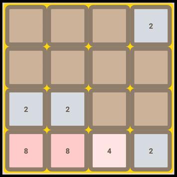Jogo 2048 screenshot 1
