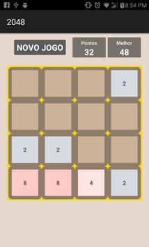 Jogo 2048 screenshot 2