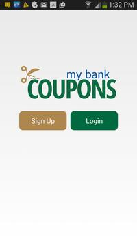 My Bank Coupons poster