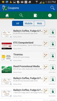 My Bank Coupons apk screenshot