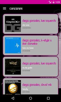 Diego Gonzalez Dj screenshot 2