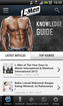 L-Men Knowledge Guide apk screenshot