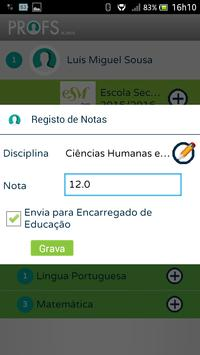 Profs-Alunos screenshot 10