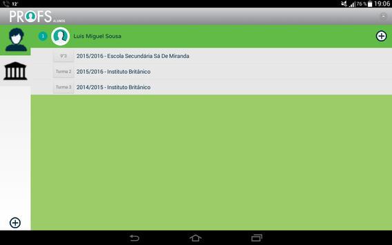 Profs-Alunos screenshot 1
