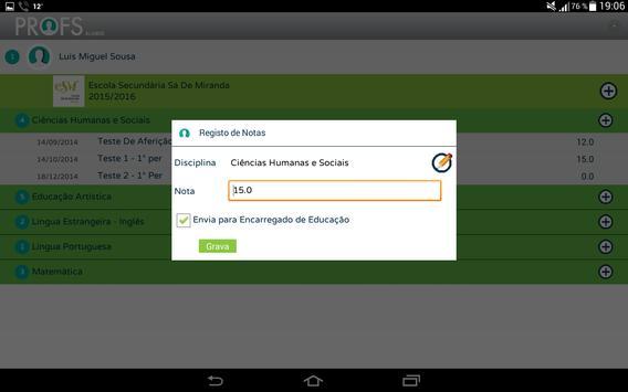 Profs-Alunos screenshot 3
