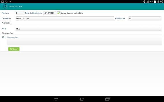 Profs-Alunos screenshot 4