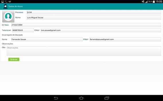 Profs-Alunos screenshot 5