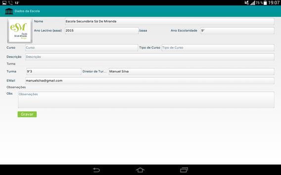 Profs-Alunos screenshot 6