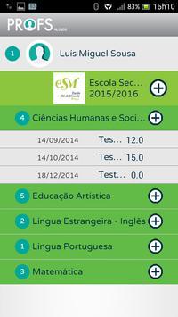 Profs-Alunos screenshot 9