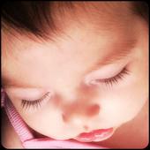 White noise baby sleep monitor icon