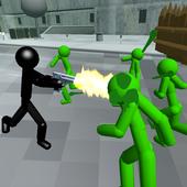 Stickman Zombie Shooting 3D icon