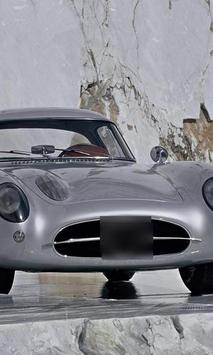 Jigsaw Puzzles Mercedes 300 SLR poster