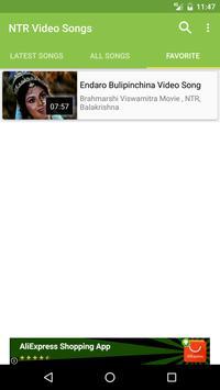 NTR Hit Video Songs screenshot 2