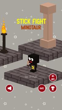 Black Warrior VS Minotaur poster