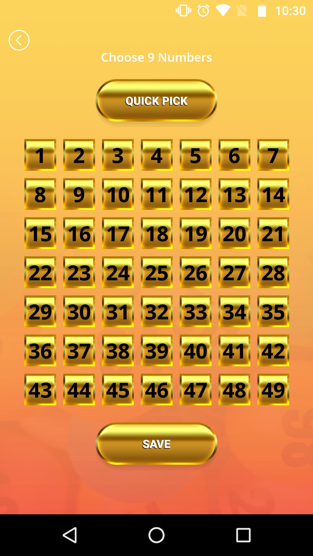 Lottery number picker powerball