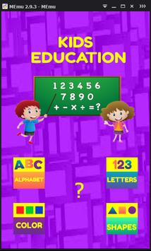 Learn Kids-Very Easy English poster