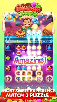 Sweets Journey-Match 3 Candy Blast Saga Game! (Unreleased) apk screenshot