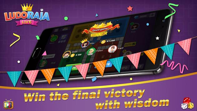 Ludo Raja LIVE – Classic Ludo Board Game screenshot 1