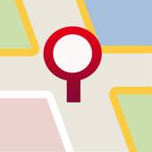 Location dictionary icon