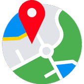 我的位置  GPS地图 图标