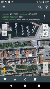 我的位置 - GPS地圖 apk 截圖