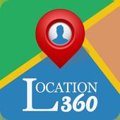 Location 360 - Family Tracker icon