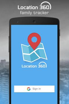 Location 360 - Family Tracker poster
