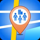 Employee Location icon