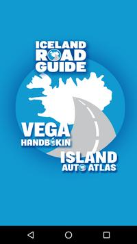 Iceland Road Guide poster