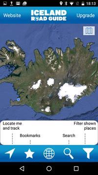 Iceland Road Guide screenshot 1