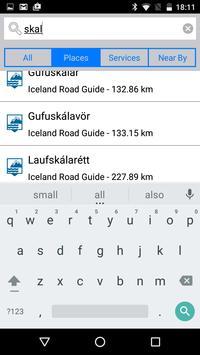 Iceland Road Guide screenshot 2
