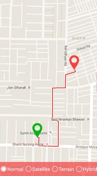 Gps Route Finder & Road Search apk screenshot