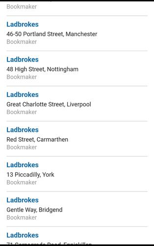 The Locator for Ladbrokes for Android - APK Download