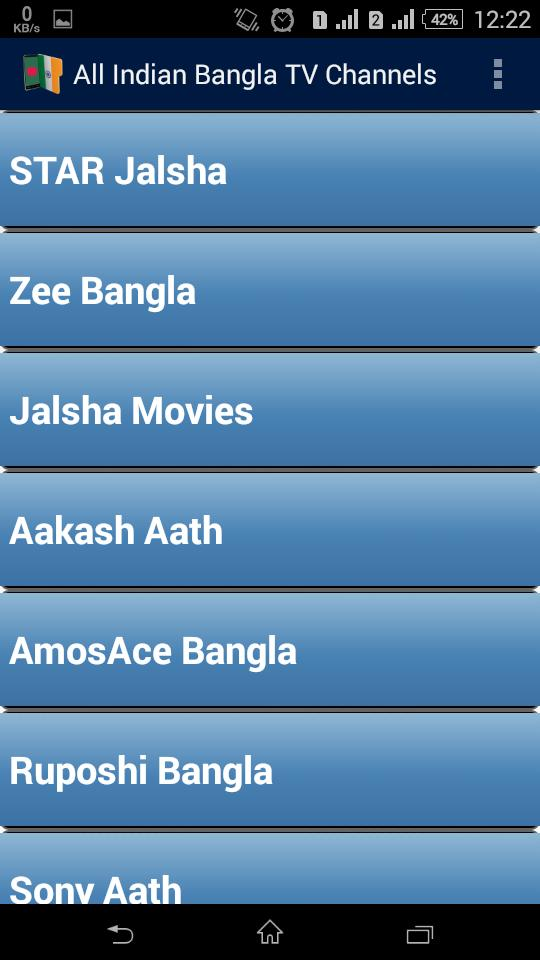 All Indian Bangla TV Channels* for Android - APK Download
