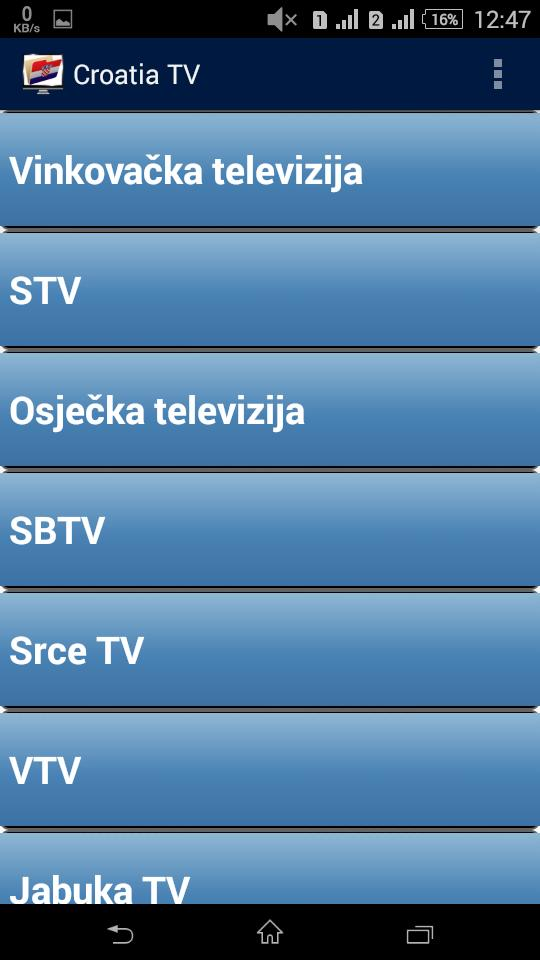 Croatia TV Channels Folder for Android - APK Download