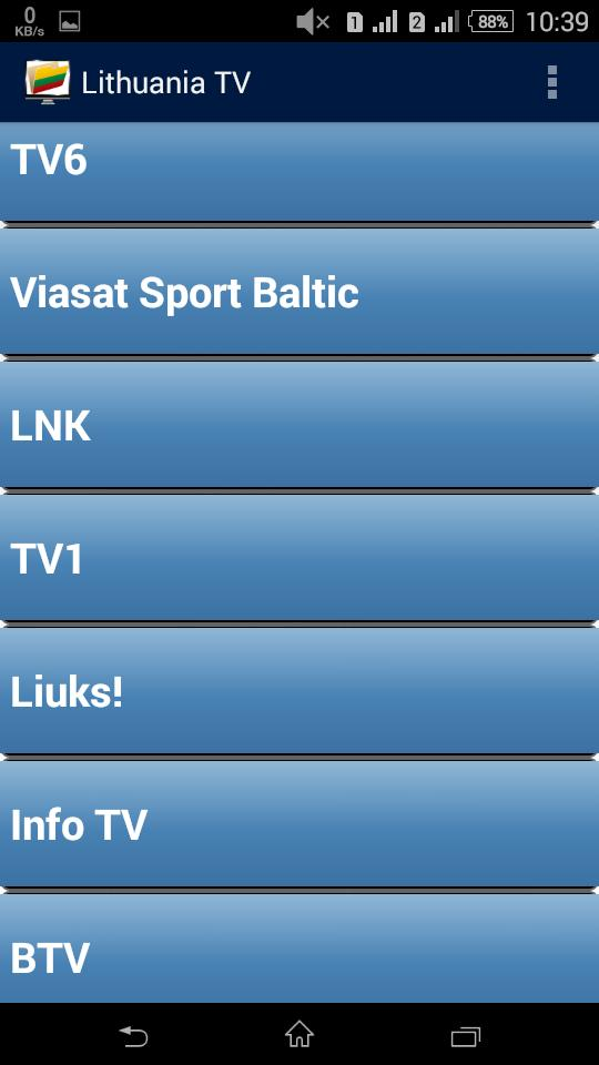 Lithuanian TV Channels for Android - APK Download