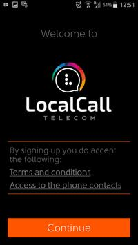 Localcall poster