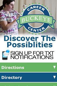 Buckeye Career Center poster