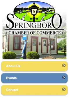 Springboro Chamber of Commerce poster