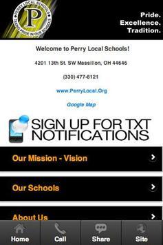 Perry Local Schools screenshot 1