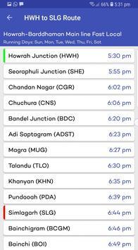Kolkata Sub Urban Trains screenshot 6