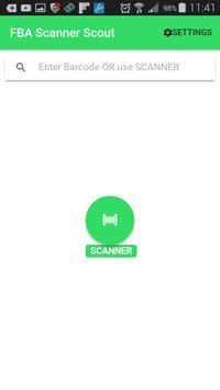 FBA Scanner Scout screenshot 2