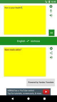 English to Xhosa Translator screenshot 3