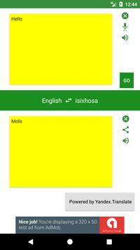 English to Xhosa Translator poster