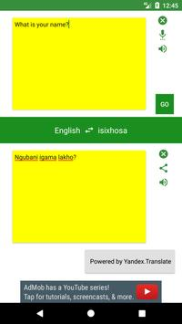 English to Xhosa Translator screenshot 2